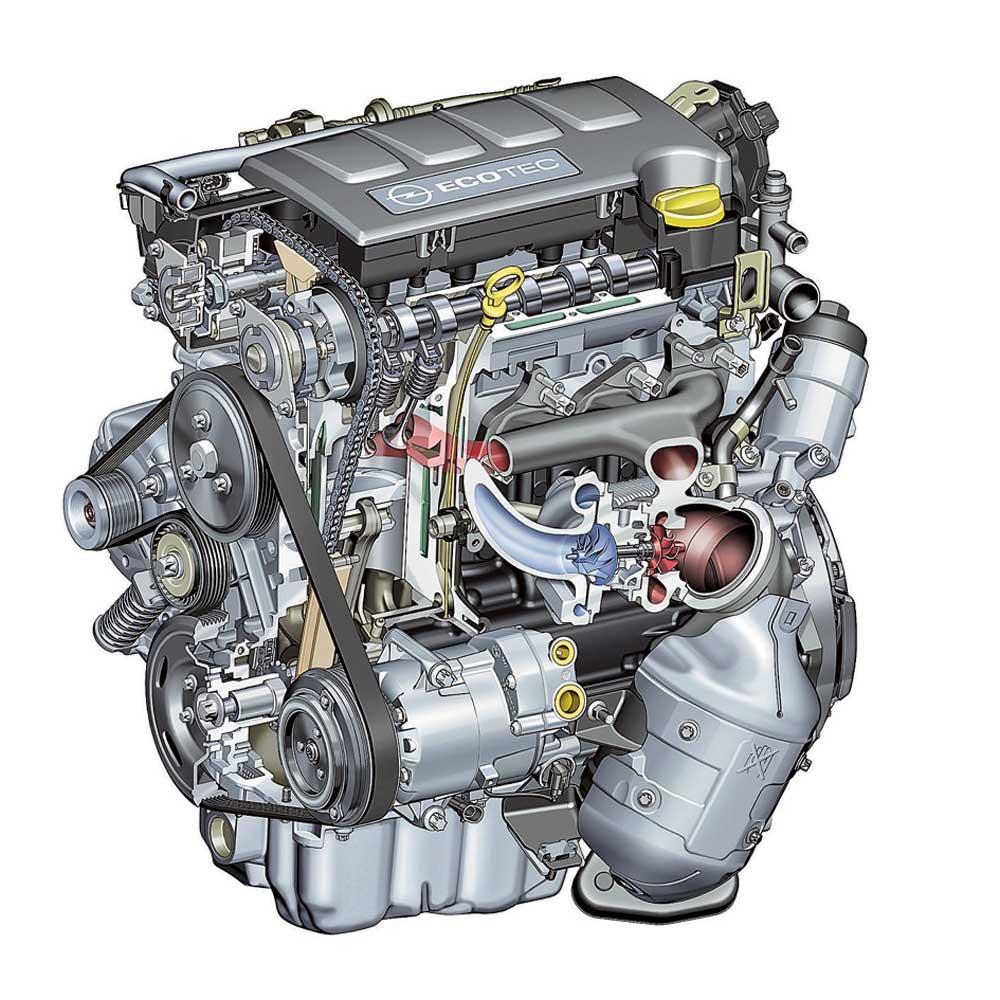 Список артикулов запчастей для капитального ремонта двигателя A14NET